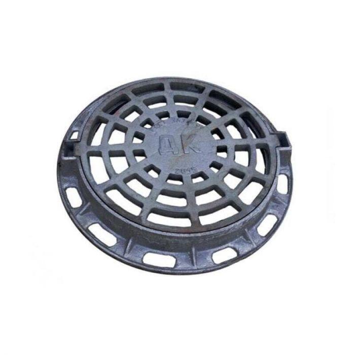 Дождеприемник чугунный круглый ДК ( В125 ) 1-60