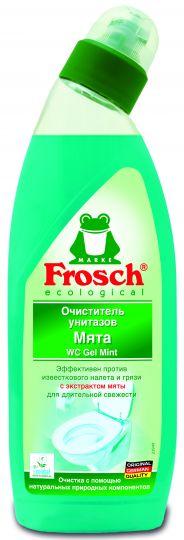 Frosch Очиститель унитазов Мята 0,75 л