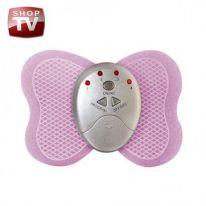 Миостимулятор мышц бабочка BUTTERFLY MASSAGER, розовый, 17x15 см.