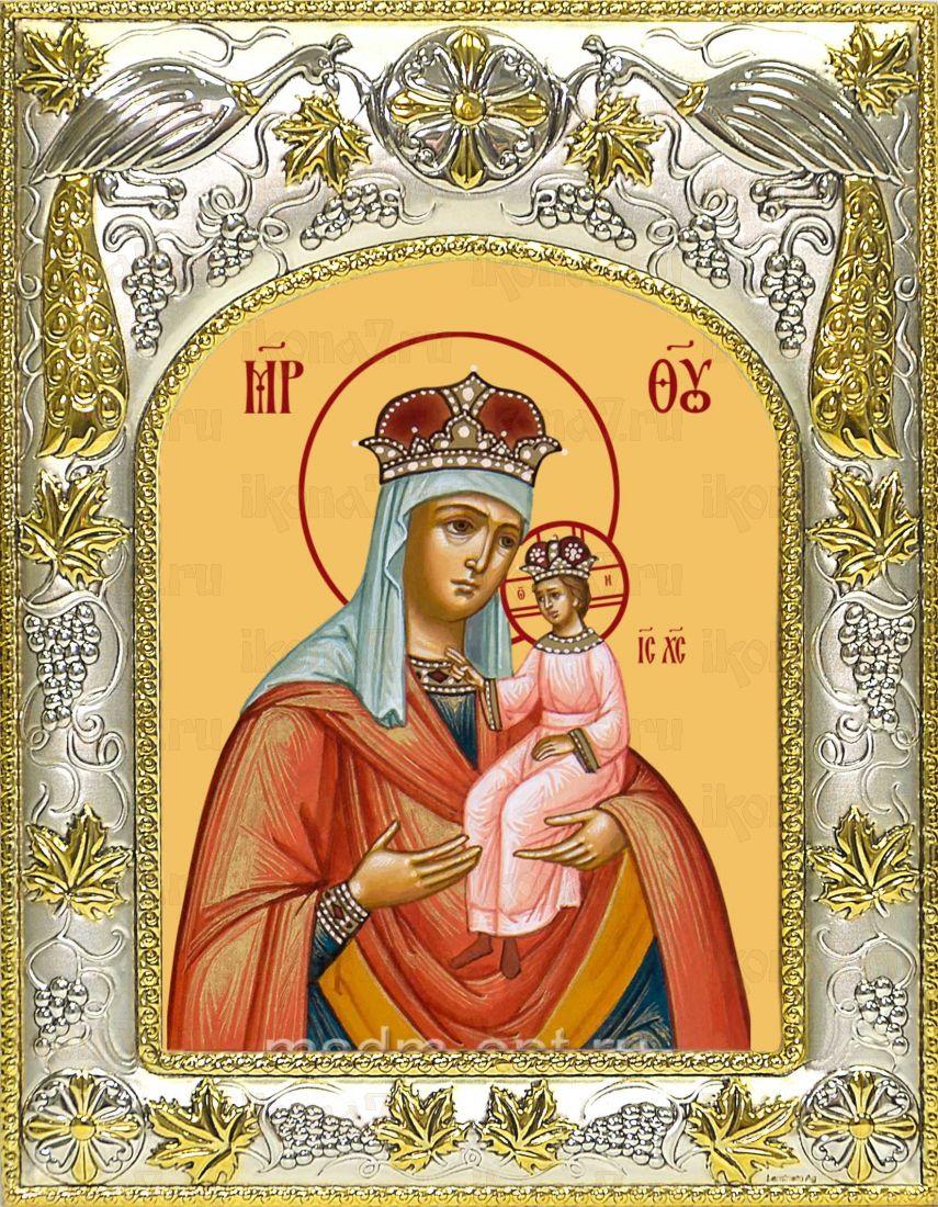 Ильинская (Черниговская) икона Божией матери (14х18)