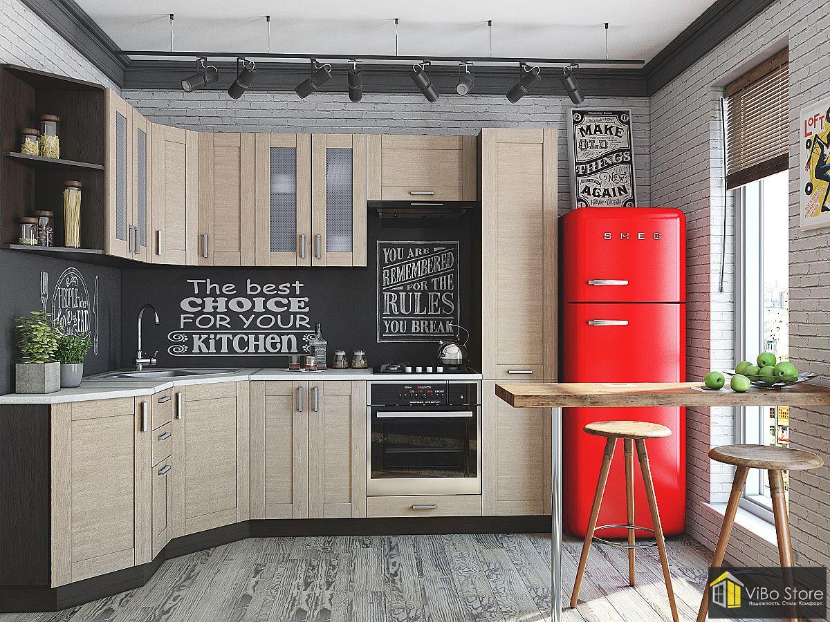 Кухня современная классика цвет венге