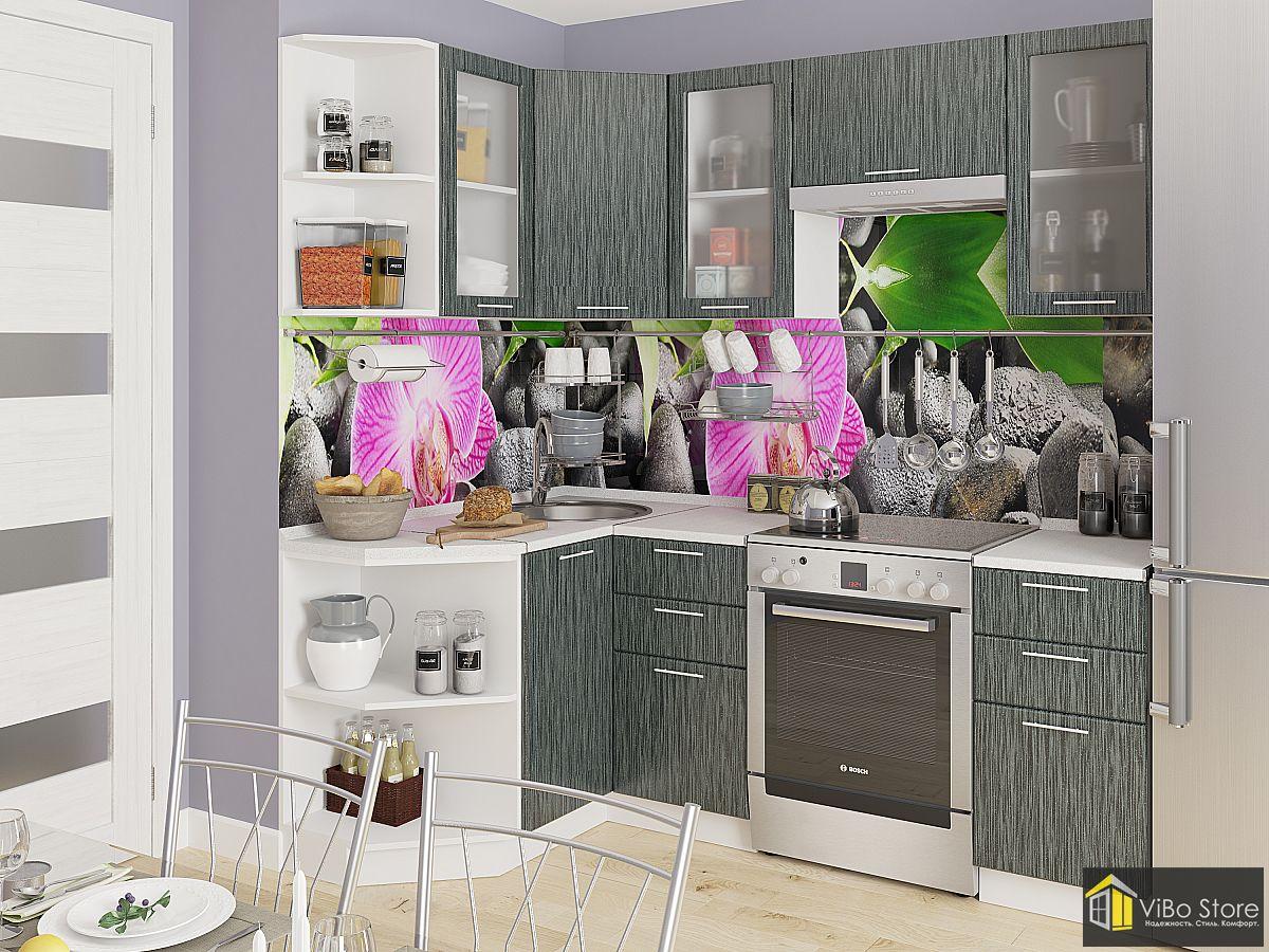 Кухня под светлое дерево