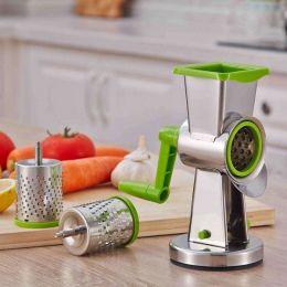 Тёрка-шинковка для овощей и фруктов Household Rotary Cutting Machine