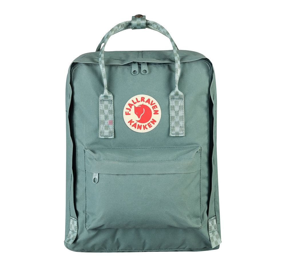 Рюкзак Fjallraven Kanken Frost Green-Chess Pattern (664-904)