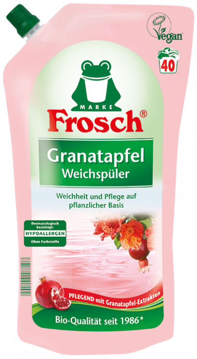 Frosch Концентрированный ополаскиватель для белья Гранат 1 л