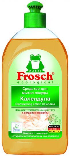 Frosch Средство для мытья посуды Календула 0,5 л