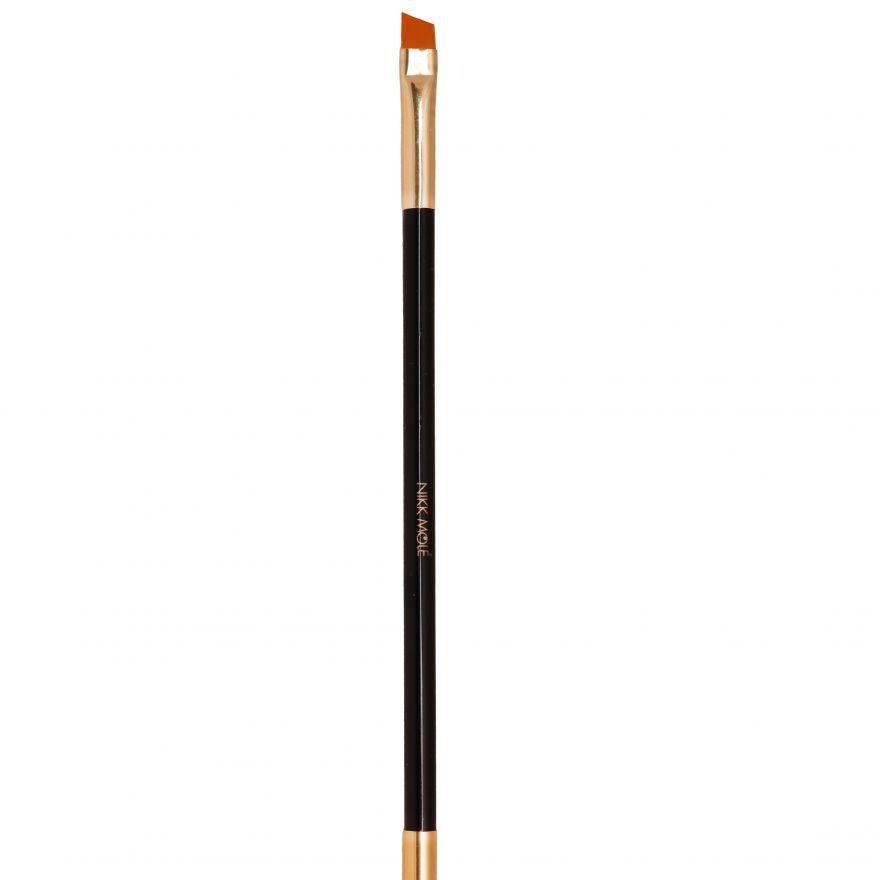 Кисть для окрашивания бровей (хна/краска) BG №14  Nikk Mole
