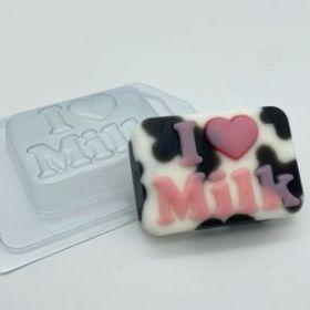 Форма пластиковая I love milk, арт. 2004