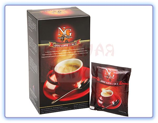NG Gano Cafe 3 in 1 (Гано Кофе 3 в 1)