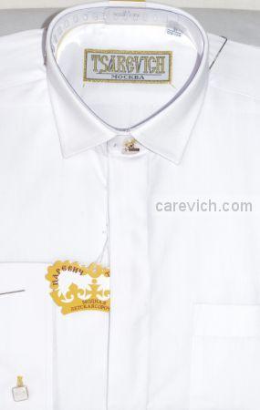Сорочка детская Tsarevich (6-14 лет) выбор по размерам арт.PT2000-BW slim   ПРИТАЛЕННАЯ