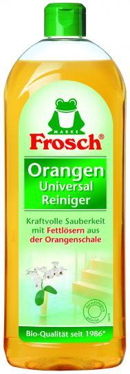 Frosch Универсальный очиститель Апельсин 0,75 л
