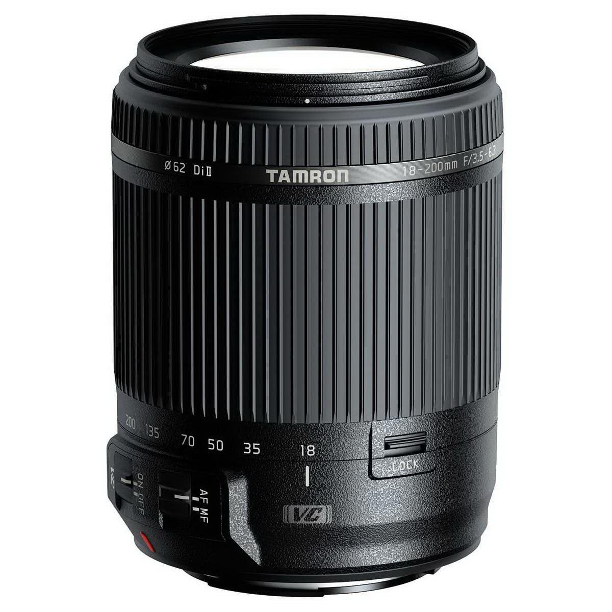 Объектив Tamron AF 18-200mm f/3.5-6.3 Di II VC (B018) Canon EF-S