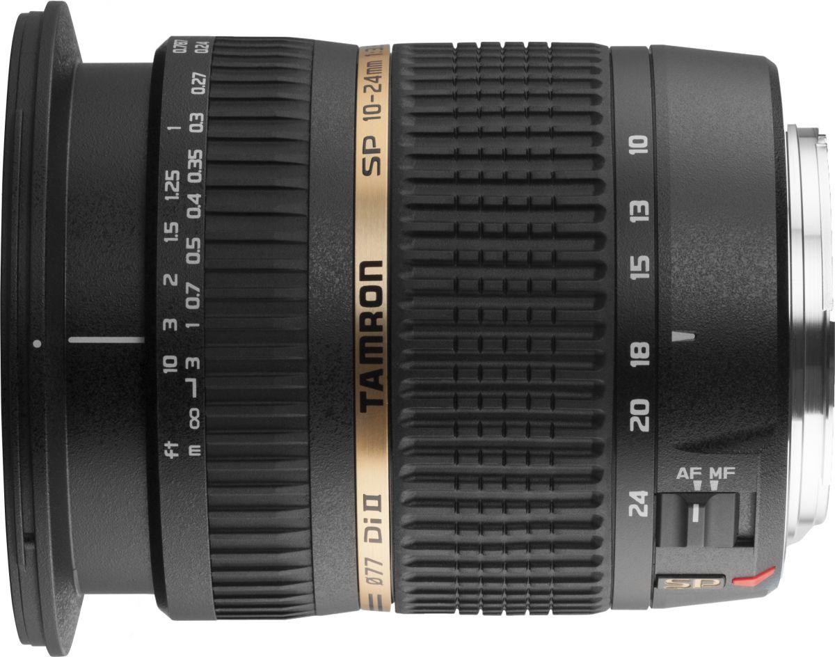 Объектив Tamron SP AF 10-24mm f/3.5-4.5 Di II LD Aspherical (IF) (B001) Canon EF-S