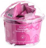 Очищающая каламиновая маска для кожи лица в индивидуальных упаковках Ayoume Enjoy Mini Wash-Off Pack