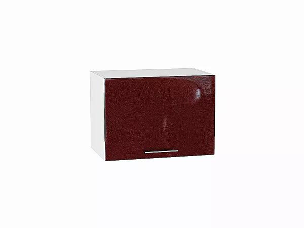 Шкаф верхний Валерия ВГ500 (гранатовый металлик)