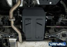 Защита дифференциала, Rival, сталь 2мм., для 4WD