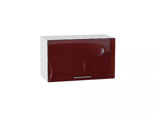 Шкаф верхний Валерия ВГ600 (гранатовый металлик)
