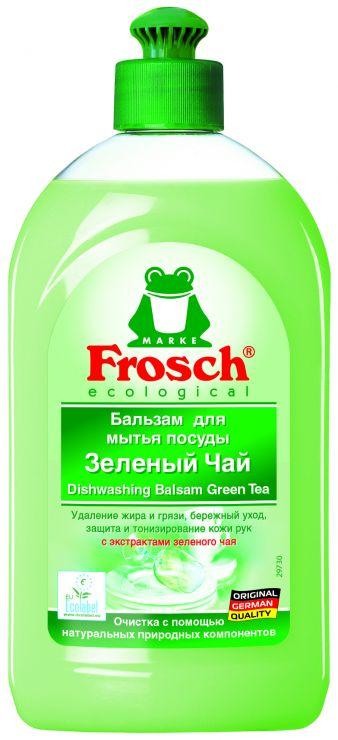 Frosch Средство для мытья посуды Зелёный чай 0,5 л