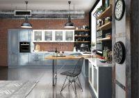 Кухня Милан Джинс с колонками