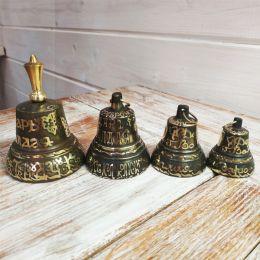 Валдайский колокольчик с гравировкой №3