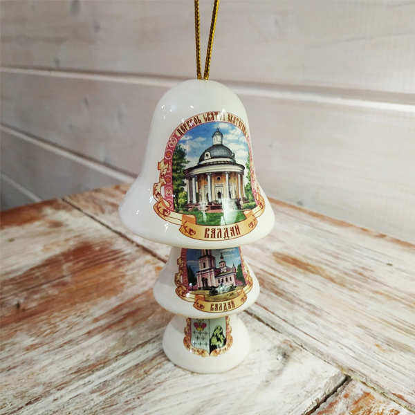 Наборы из 3-х керамических колокольчиков
