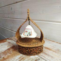 Колокольчик керамический купол