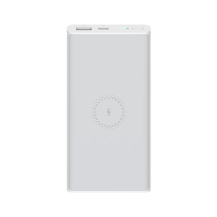 Внешний аккумулятор с функцией беспроводной зарядки Xiaomi Mi Power Bank Wireless Lite 10000mAh Белый (WPB15ZM)