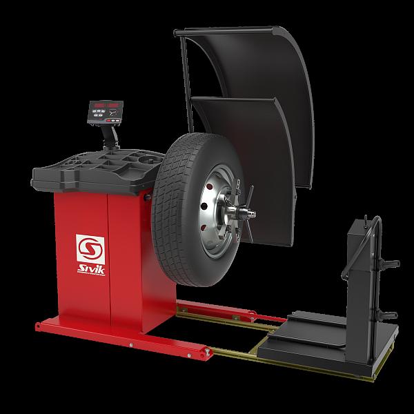 *Балансировочный станок грузовой (СБМП-200 Ст) TRUCKER Standard SIVIK