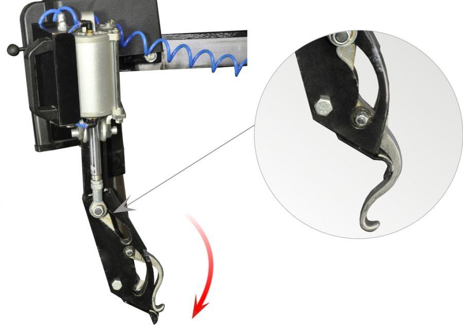 Вспомогательное устройство для монтажа и демонтажа борта шины без использования монтировки SIVIK