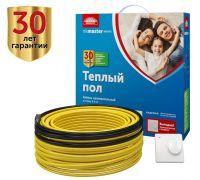 Комплект нагревательный кабель Национальный Комфорт БНК Мастер 75 Вт - 9 м (0,4-0,5 м2) с терморегулятором