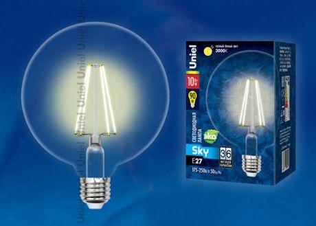 LED-G125-10W/WW/E27/CL PLS02WH картон