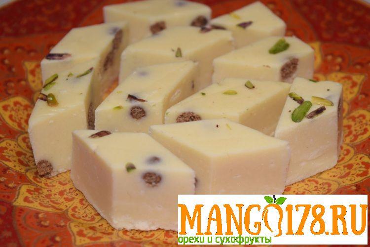 Халва узбекская молочная с орехами