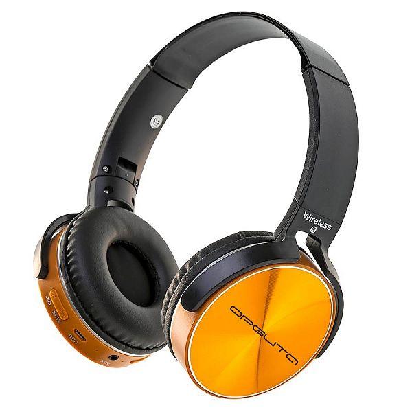 Орбита OT-ERB39 Золотой наушники большие - гарнитура (Bluetooth)