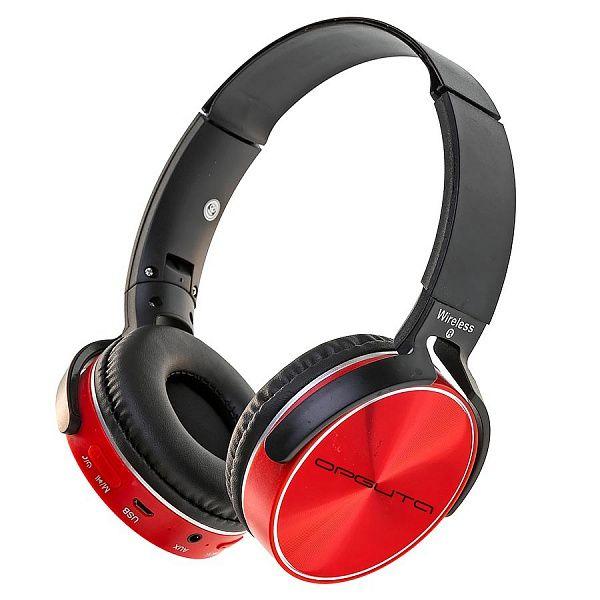 Орбита OT-ERB39 Красный наушники большие - гарнитура (Bluetooth)