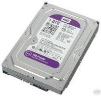 Жесткий диск HDD 1Tb Western Digital Purple для (видеонаблюдения)