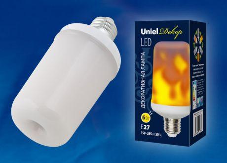 LED-L60-6W/FLAME/E27/FR PLD01WH