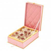 """Пастильные конфекты в белом шоколаде """"Розовая шкатулка"""""""