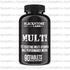 BlackSton Labs Multi Test boosting multi-vitamin & male perfomance matrix 90 таб