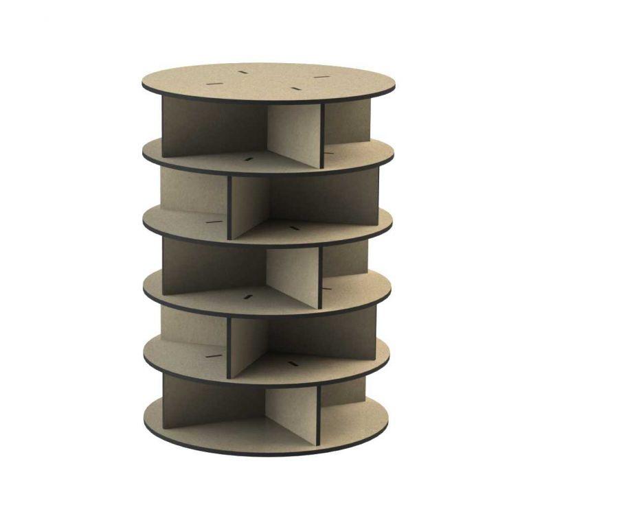 Органайзер из дерева башня