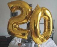 Фольгированный шар с цифрой