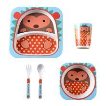 Набор детской посуды из бамбука Bamboo Ware Kids Set