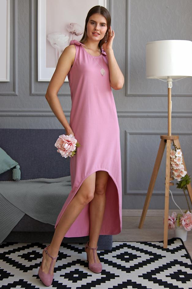 Розовый сарафан Малина