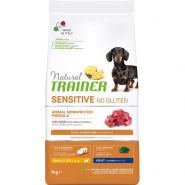 Natural Trainer Sensitive No Gluten* Adult Dog Mini Сухой корм для собак мелких пород с ягненком, 800 гр