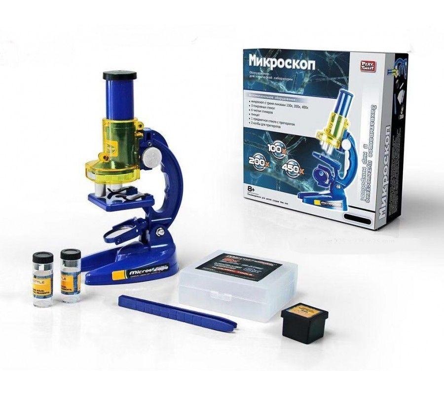 9865 Детский микроскоп с тремя линзами Play Smart