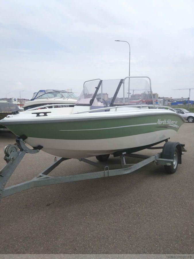 Лодка NorthSilver 490