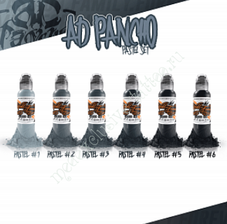 A.D. PANCHO PASTEL GREY SET 1oz