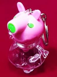 Брелок Свинка Пеппа светящийся