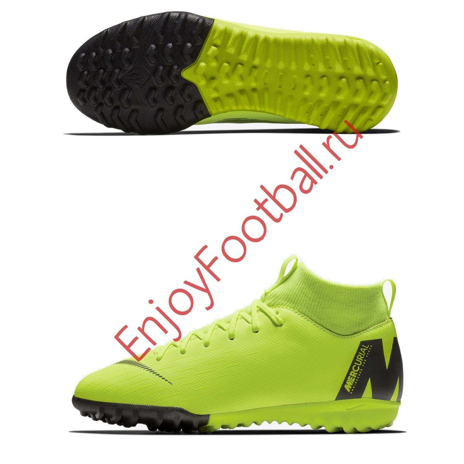 4f8053e9075e Детские шиповки NIKE SUPERFLYX VI ACADEMY GS TF AH7344-701 JR купить ...