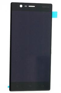 LCD (Дисплей) Nokia 3 (в сборе с тачскрином) (black) Оригинал