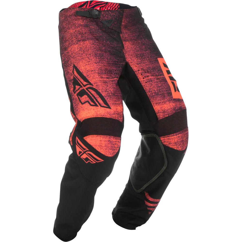 Fly - 2019 Kinetic Noize Neon Red/Black штаны, красно-черные